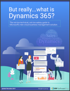 But Really...What is Microsoft Dynamics 365?
