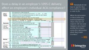 1095-C delay mean 1040 filings_Integrity Data