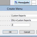 Create Item for Report