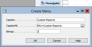 Create Item for Report