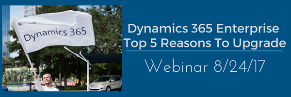 Dynamics 365 Enterprise Webinar