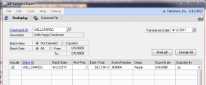 AP Connect for Wells Fargo Payment Manager | The Resource Group