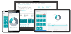 Microsoft Dynamics 365 Business Central interface