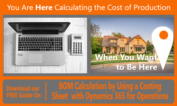 Dynamics 365 Cost Accounting