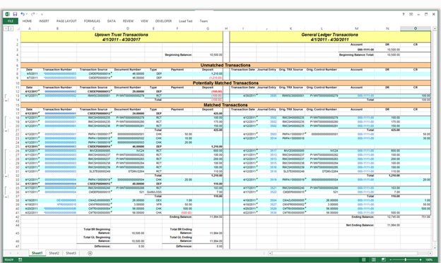 Bank Reconciliation Dynamics GP 2013a