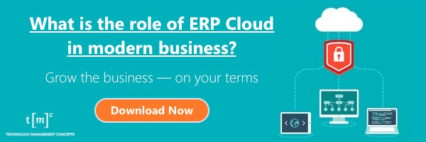 "ERP and ""the Cloud"""