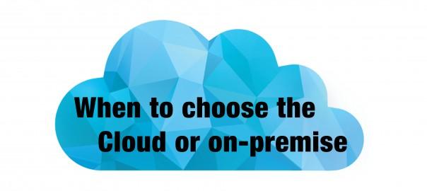 Blog banner Cloud vs. InHouse