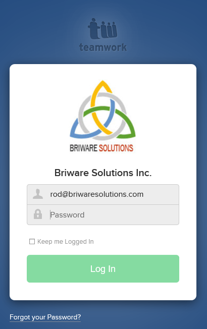Briware Solutions Teamwork Login - ERP Software Blog