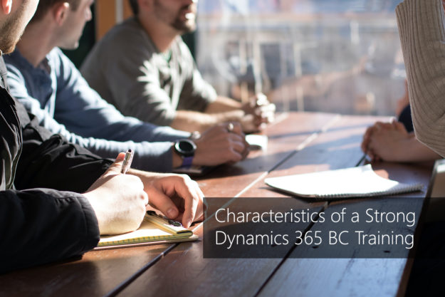 Characteristics of a Strong Dynamics 365 BC Training