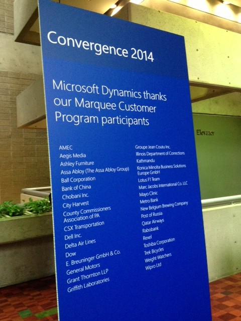 Famous Brands Using Microsoft Dynamics - Name Dropping at