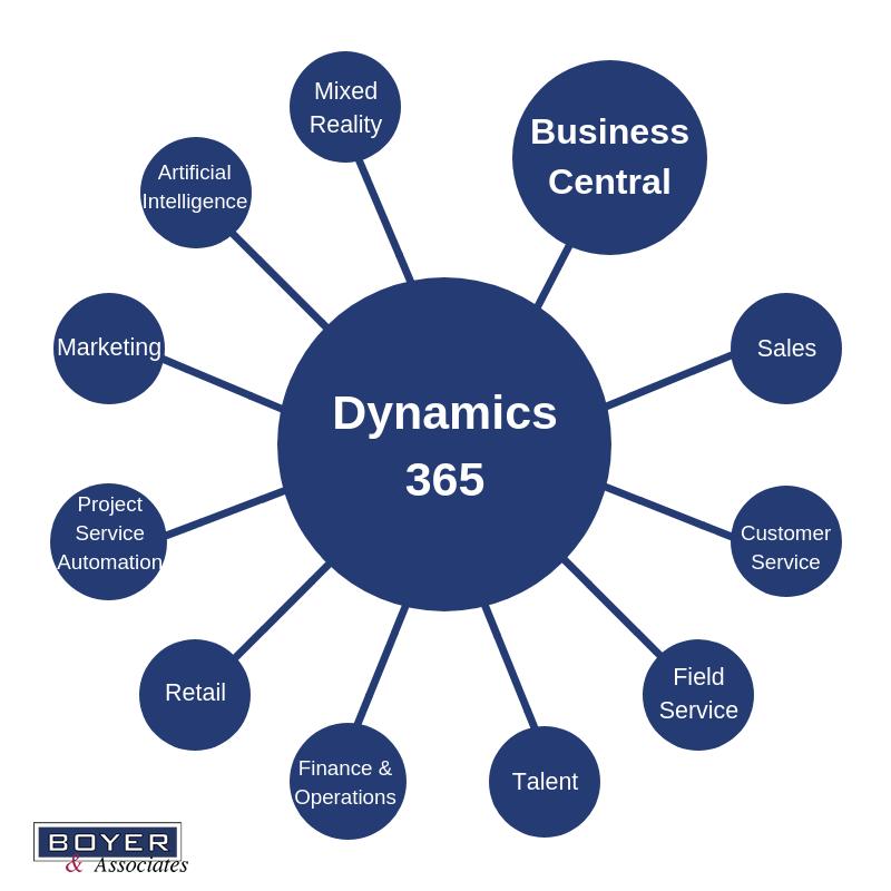 Dynamics 365 family