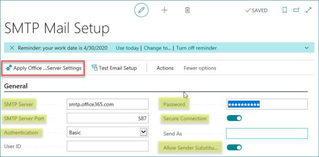 Dynamics 365 SMTP Setup with Azure