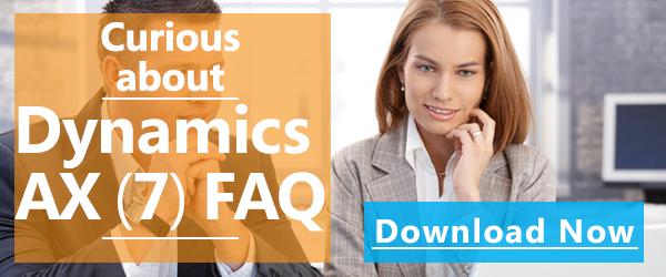 Dynamics AX (7) FAQ
