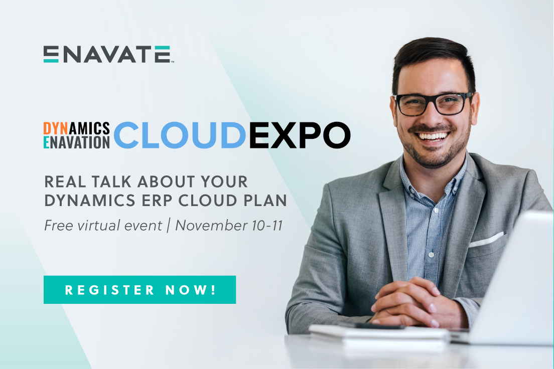 Register for the Dynamics Enavation Cloud Expo