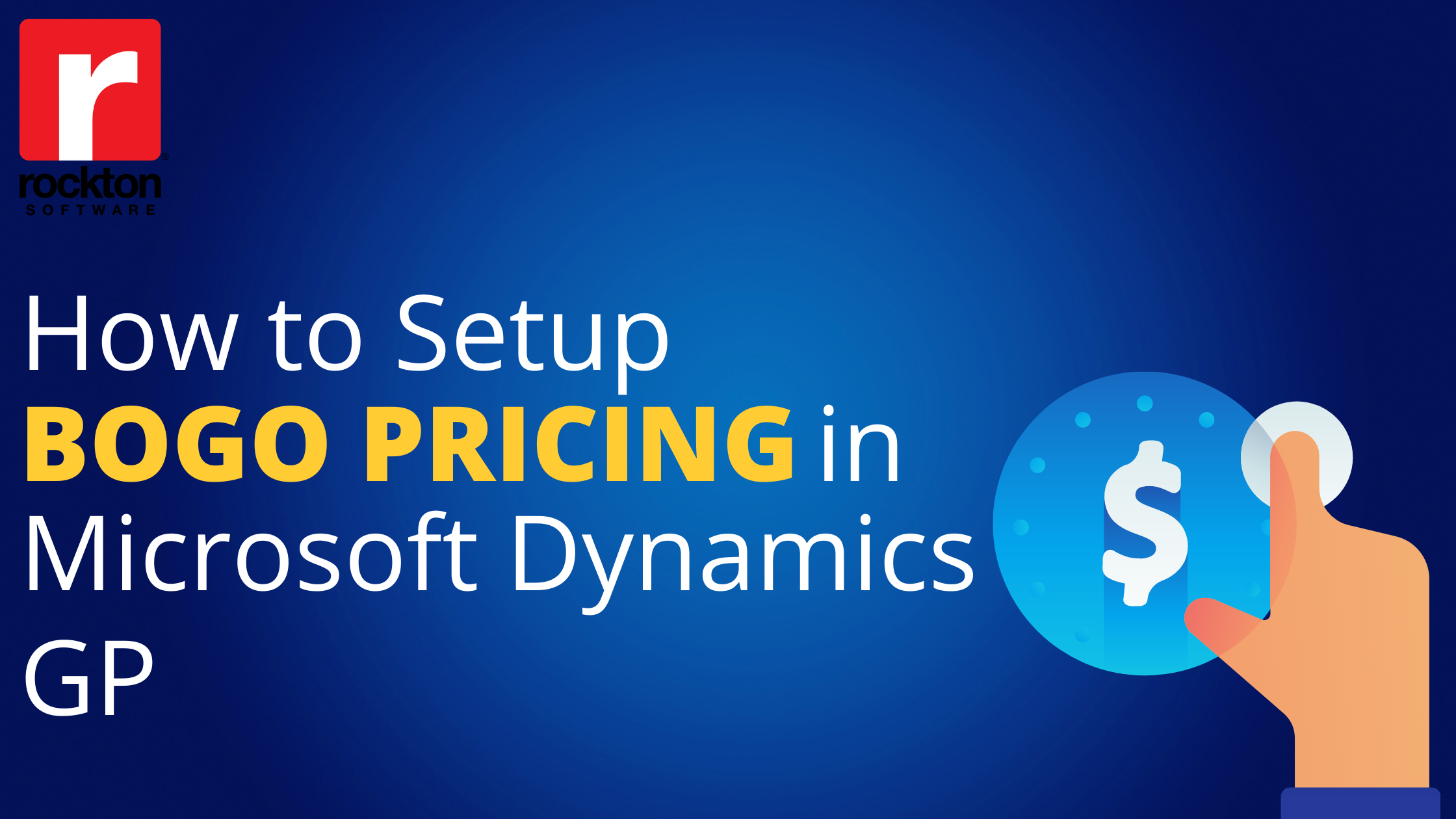 Set Up Buy One Get One Dynamics GP