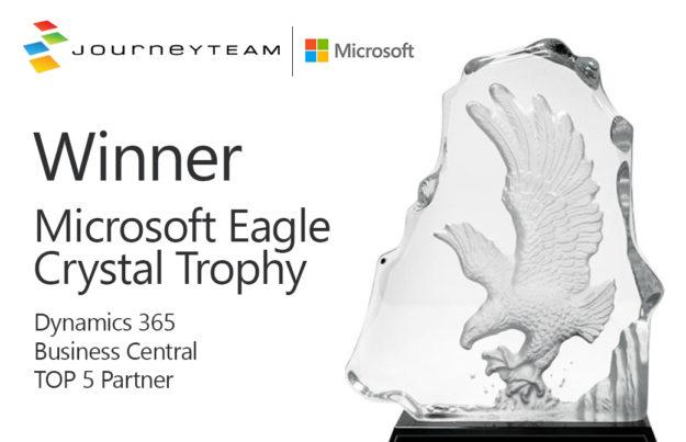 Eagle Crystal Award | Dynamics 365 Business Central