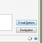 Dynamics GP Email Options