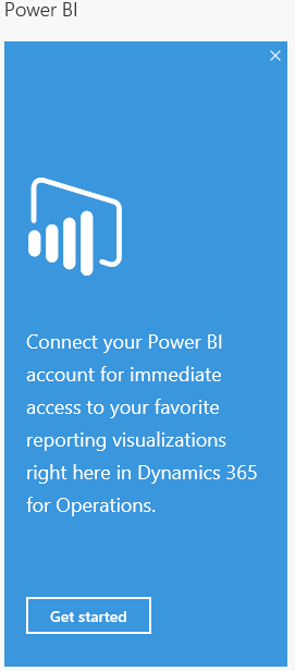 Connect Power BI Account