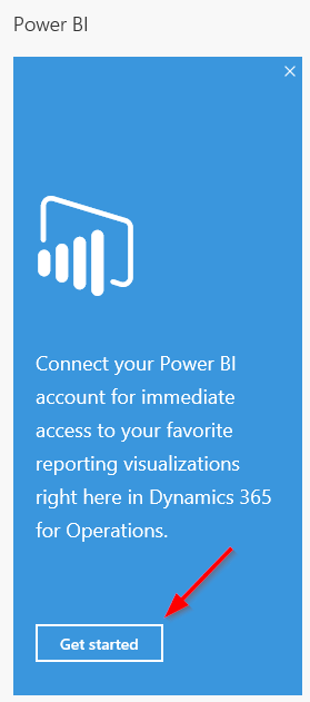 Get started with Power BI connection