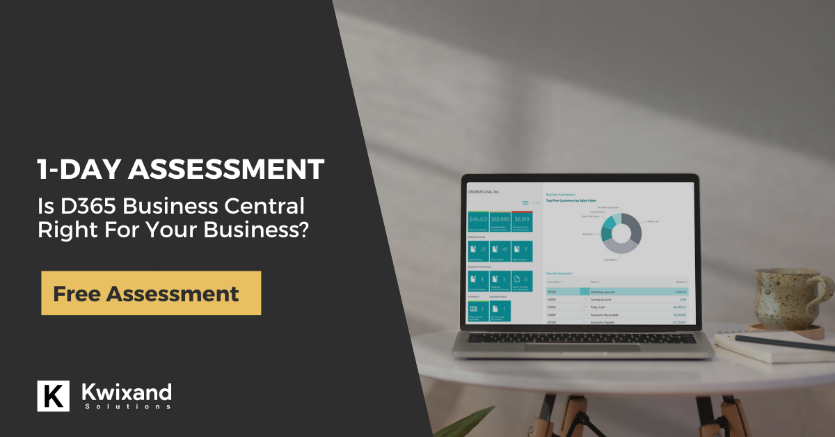 Free Business Central Assessment - Kwixand Solutions
