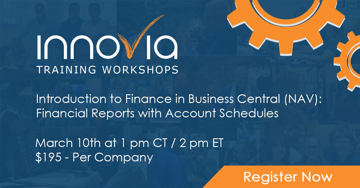 Budgeting and reporting are two critical activities for Finance professionals. Do you need to learn how to get started tackling them in Business Central or NAV? Join this in-depth training course to discover all you need to know to start creating and editing budgets and account schedules. This class is designed for the beginner or anyone who wants to review these processes.