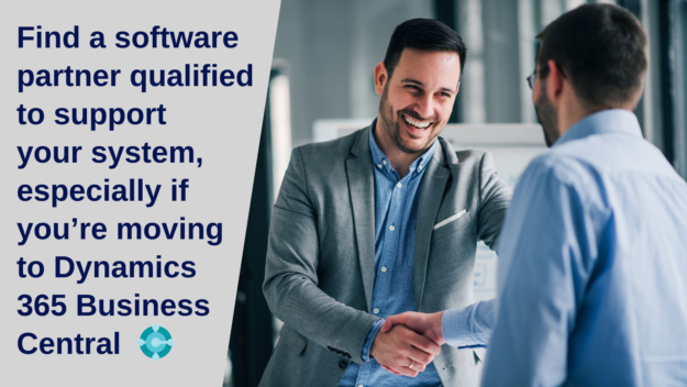 Find a software partner qualified to support your system