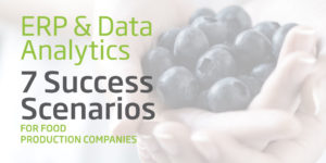 ERP and Data Analytics for the Food Industry