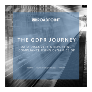 The GDPR Journey: Data Discovery and Reporting Compliance