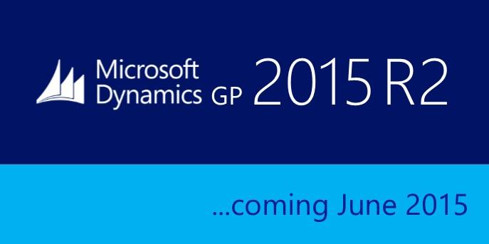 Microsoft Dynamics GP 2015 R2 New Features