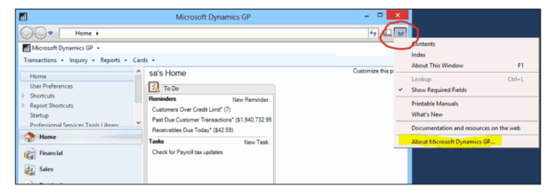 upgrading microsoft dynamics gp