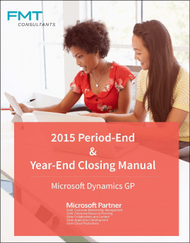 GP Year End Manual
