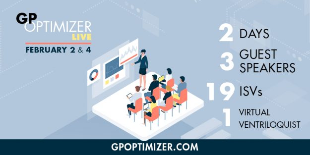 GP Optimizer Live Winter Virtual Event