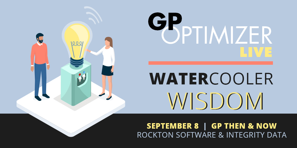 Water Cooler Chat with Rockton Software and Integrity Data