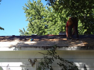 Fixing Garage Roof