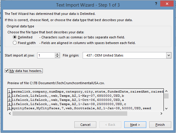 Easy Steps for a Dynamics GP User To Import a CSV File Into