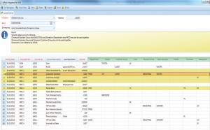 WMS menu  movement by template  OrganicAX