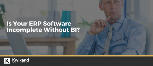 Is your erp software incomplete without BI