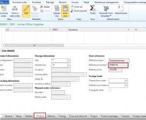 Dynamics AX Service Items on Bills of Material