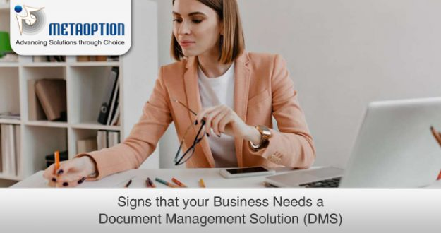 Signs that your Business Needs a Document Management Solution