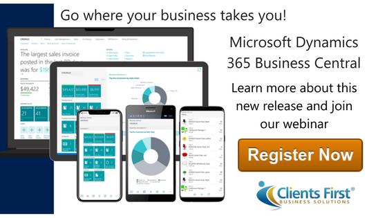 Microsoft Dynamics 365 Business Central Webinar