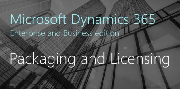 Microsoft Dynamics 365 Packaging, Pricing and Licensing (Twitter Image)
