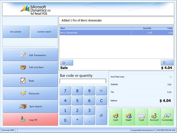 microsoft dynamics ax 2012 for retail point of sale erp software blog