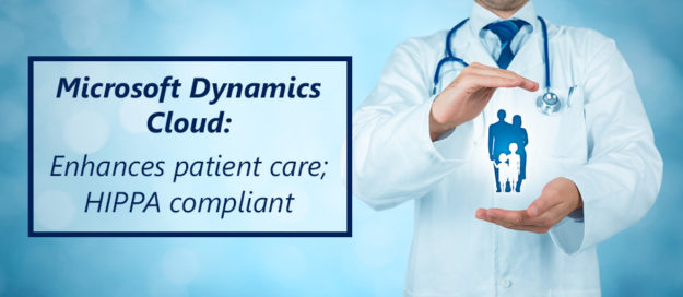Microsoft Dynamics Cloud- Enhances patient care; HIPPA compliant._