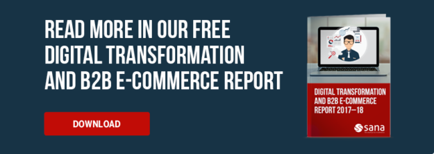 Sana Commerce Digital Transformation E-Commerce Report