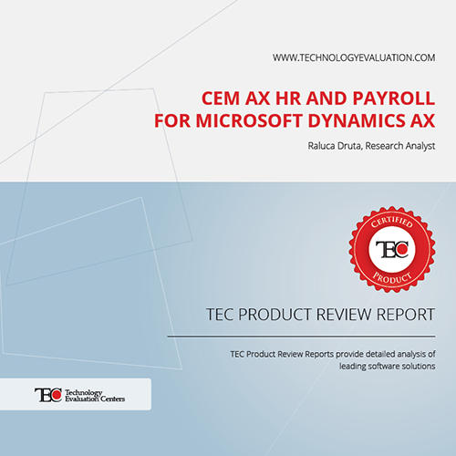 TEC product review report cover image