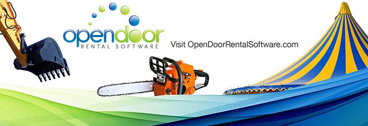 Open Door Rental Software for Dynamics NAV Banner