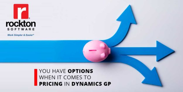 Pricing Options for Dynamics GP