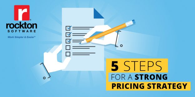 5 Steps for a Strong Pricing Strategy