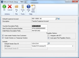 Refunding Customers is Automated in Microsoft Dynamics GP image 1