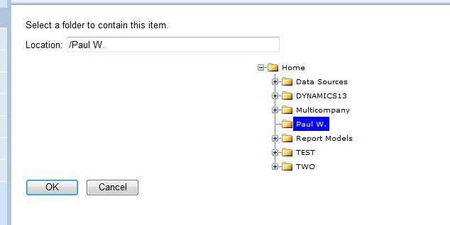 Select a Folder
